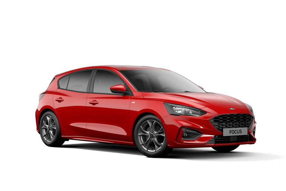 In Ditzingen Ford Focus - Ford Händler vor rt