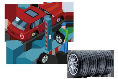 Neue Reifen bei Autowerkstatt in Ditzingen